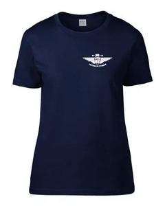 Small Ladies Navy T Shirt