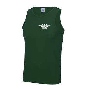 Large Bottle Green Men's Vest