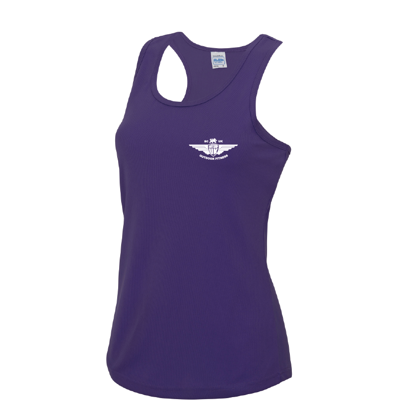 Medium Purple Ladies Vest