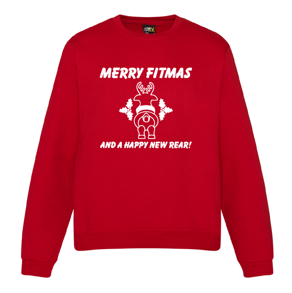 Merry Fitmas Jumpers