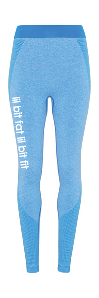 Women's Seamless sculpt leggings - leg logo