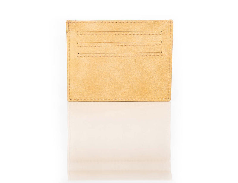 """333"" Metallic Gold Card Case"
