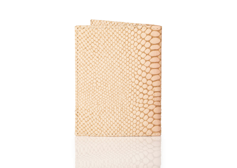 """10:10"" Ivory Passport/Wallet"