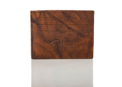 """333"" Supple Brown Card Case"