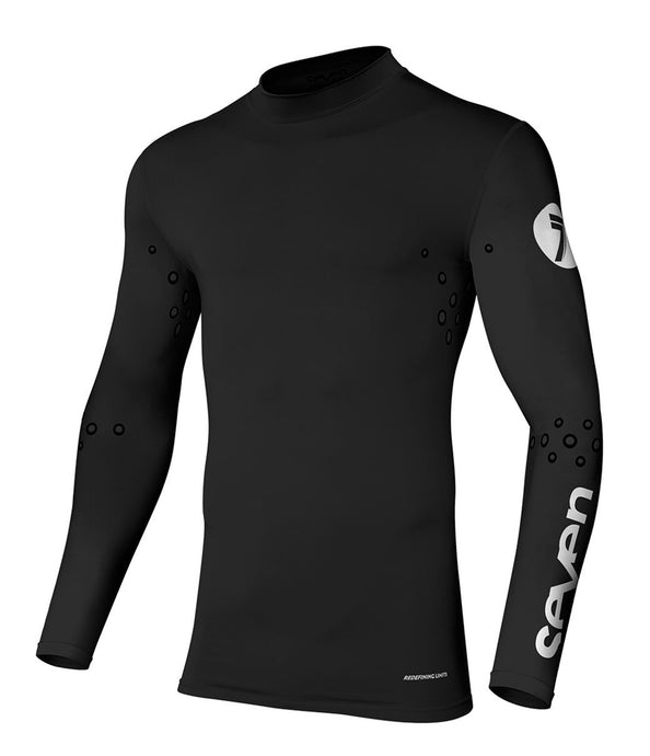 Zero Laser Cut Compression Jersey - Black