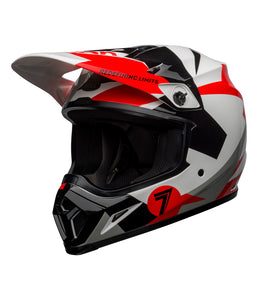 MX-9 MIPS Helmet - Red/White