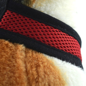 Dog Harness, Soft and Adjustable Mesh Harness