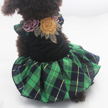 Load image into Gallery viewer, Plaid Dog Dress