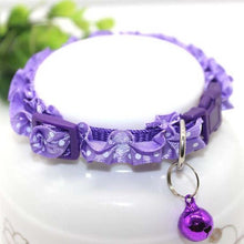 Load image into Gallery viewer, Dog Collar - Lace Adjustable with Bell