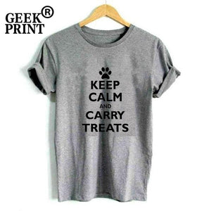 T-Shirt, Keep Calm and Carry Treats