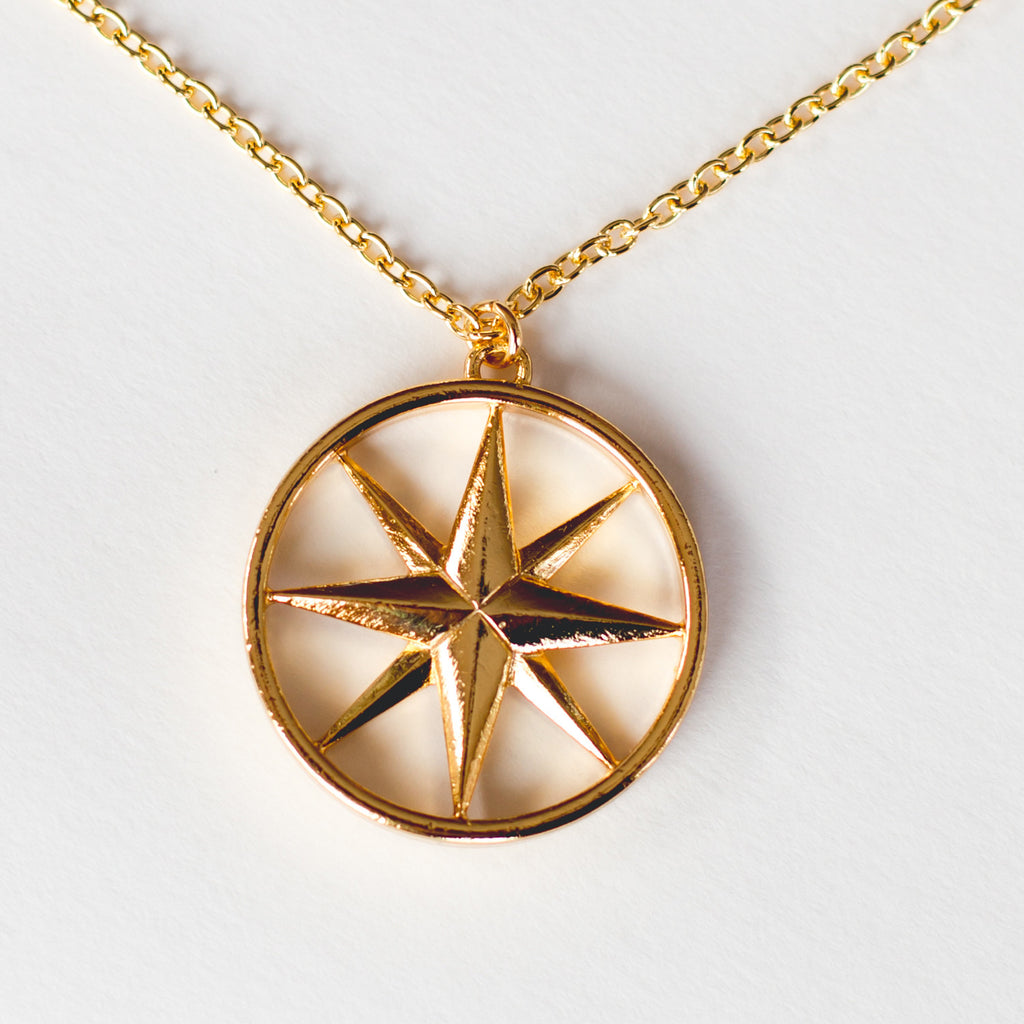 The Gold Compass Rose