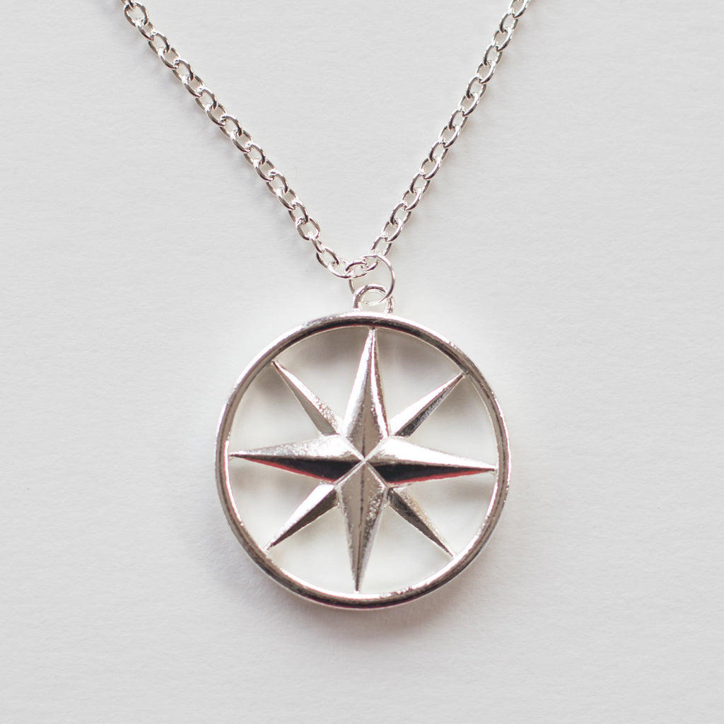 The Silver Compass Rose