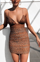 Load image into Gallery viewer, Angel Biba Jasmin Leopard dress