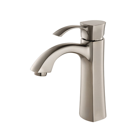 BAR-3740-BN SINGLE HANDLE BRUSHED NICKEL BAR FAUCET - KralSu Sink and Faucet Supplies