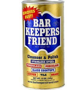 Cleaning - Bar Keepers Friend® Cleanser & Polish