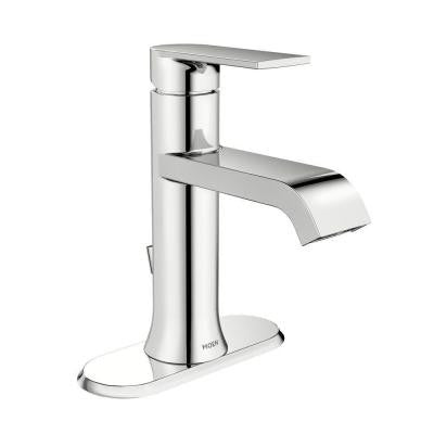 Moen Genta Single Hole Single-Handle Bathroom Faucet in Chrome