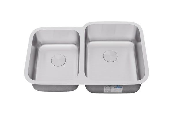 Allora Usa Ksn 3221r Undermount 40 60 Double Bowl