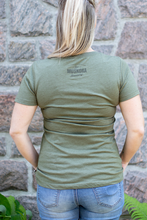 Load image into Gallery viewer, Brewed in Muskoka Green Tee