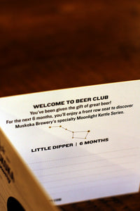Beer Club Card