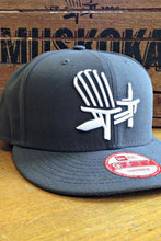 Load image into Gallery viewer, Grey Chair Snapback