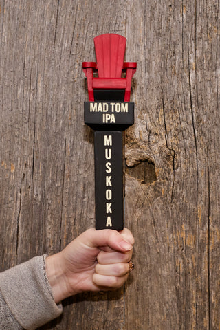 Mad Tom IPA Tap Handle