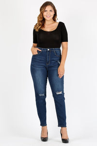 Nora Plus Size Dark Wash Jeans