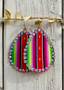 Serape Drop Earrings