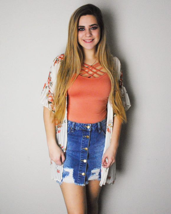 Ivy Jean Mini Skirt