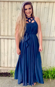 Showing off Navy Maxi