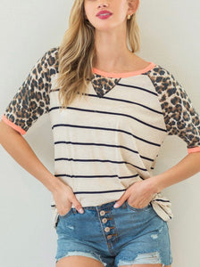 Leopard Letty Top