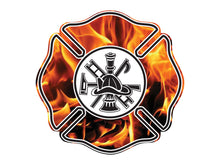 Load image into Gallery viewer, Fire & Flames Maltese Crosses