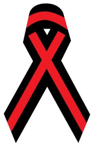 Thin Red Line Ribbon