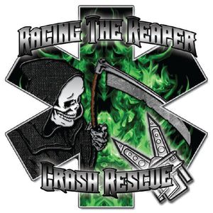 Racing The Reaper Star Of Life Decals