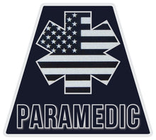 Load image into Gallery viewer, Reflective PARAMEDIC Subdued American Flag Tetrahedron