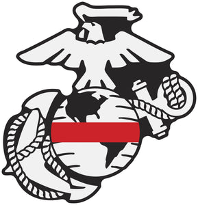 Thin Line USMC EGA Decals - Thin Red Line