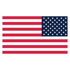 Reverse American USA Reflective Vinyl Decal