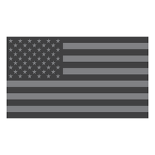 Load image into Gallery viewer, Subdued American Flag Reflective Vinyl Decals