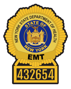 Custom Listing for Emily W. - Henrietta and EMT Badge Decals - Fire Safety Decals