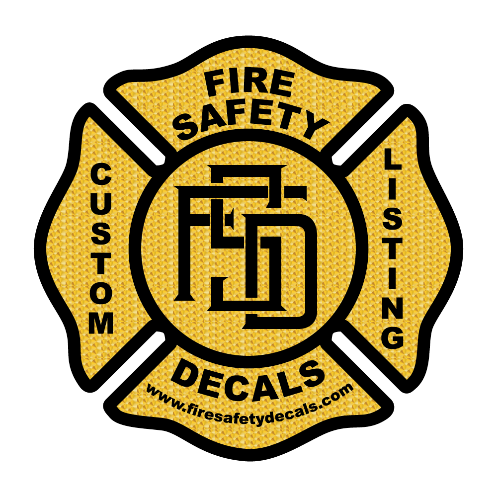 Custom Listing for Ben J. - Fire Safety Decals