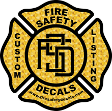 Load image into Gallery viewer, Custom Listing for D. Derrick - Fire Safety Decals