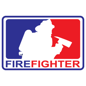 Major League Firefighter Version 1 Reflective Decals
