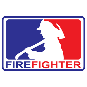 Major League Firefighter Version 4 Reflective Decals