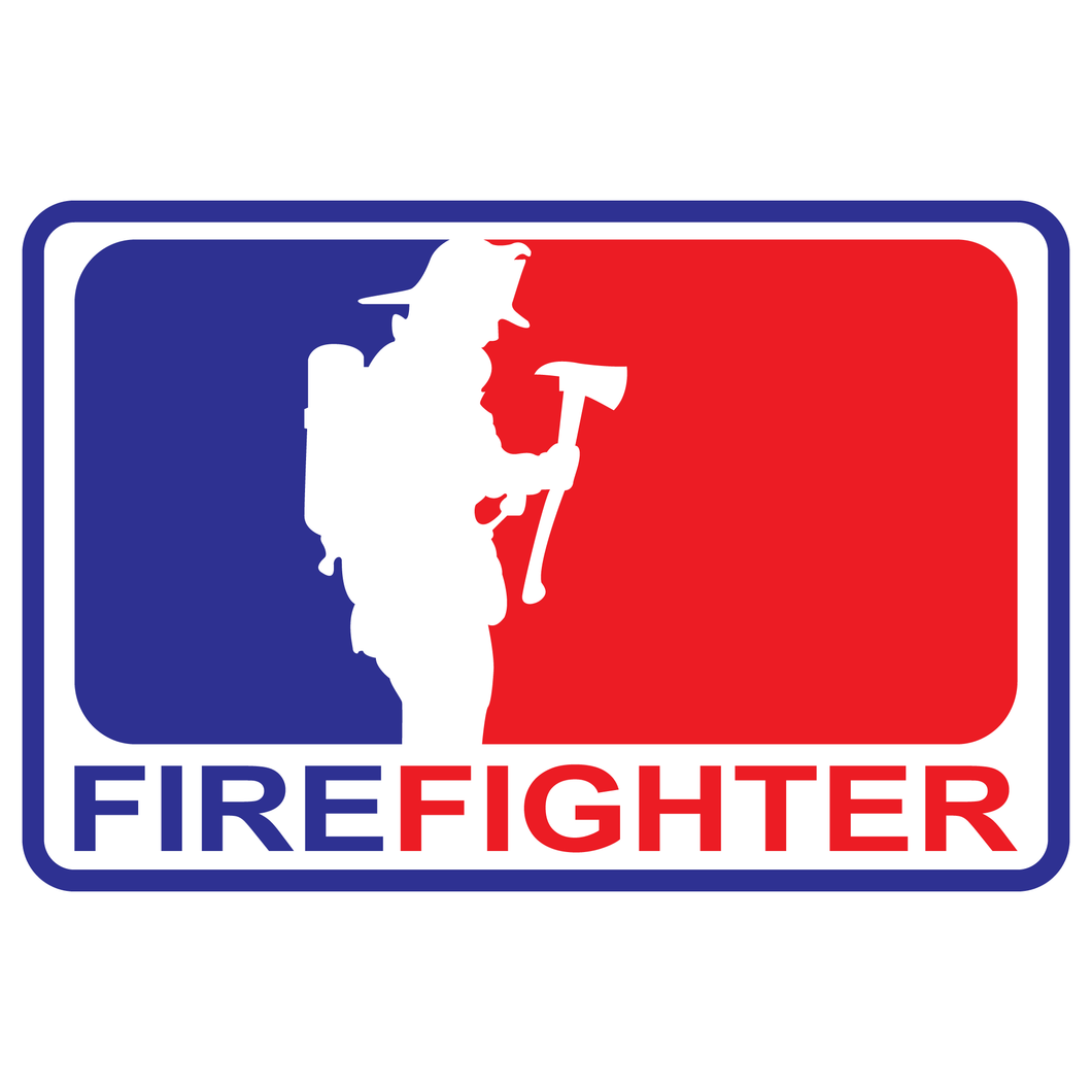 Major League Firefighter Version 5 Reflective Decals