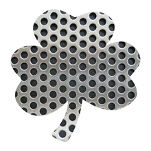Load image into Gallery viewer, Metal Textures Lucky Shamrock Reflective Decals