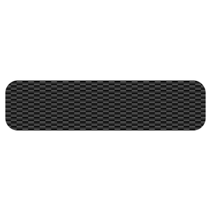 Carbon Fiber Helmet Trim Stripe Reflective Vinyl Decals