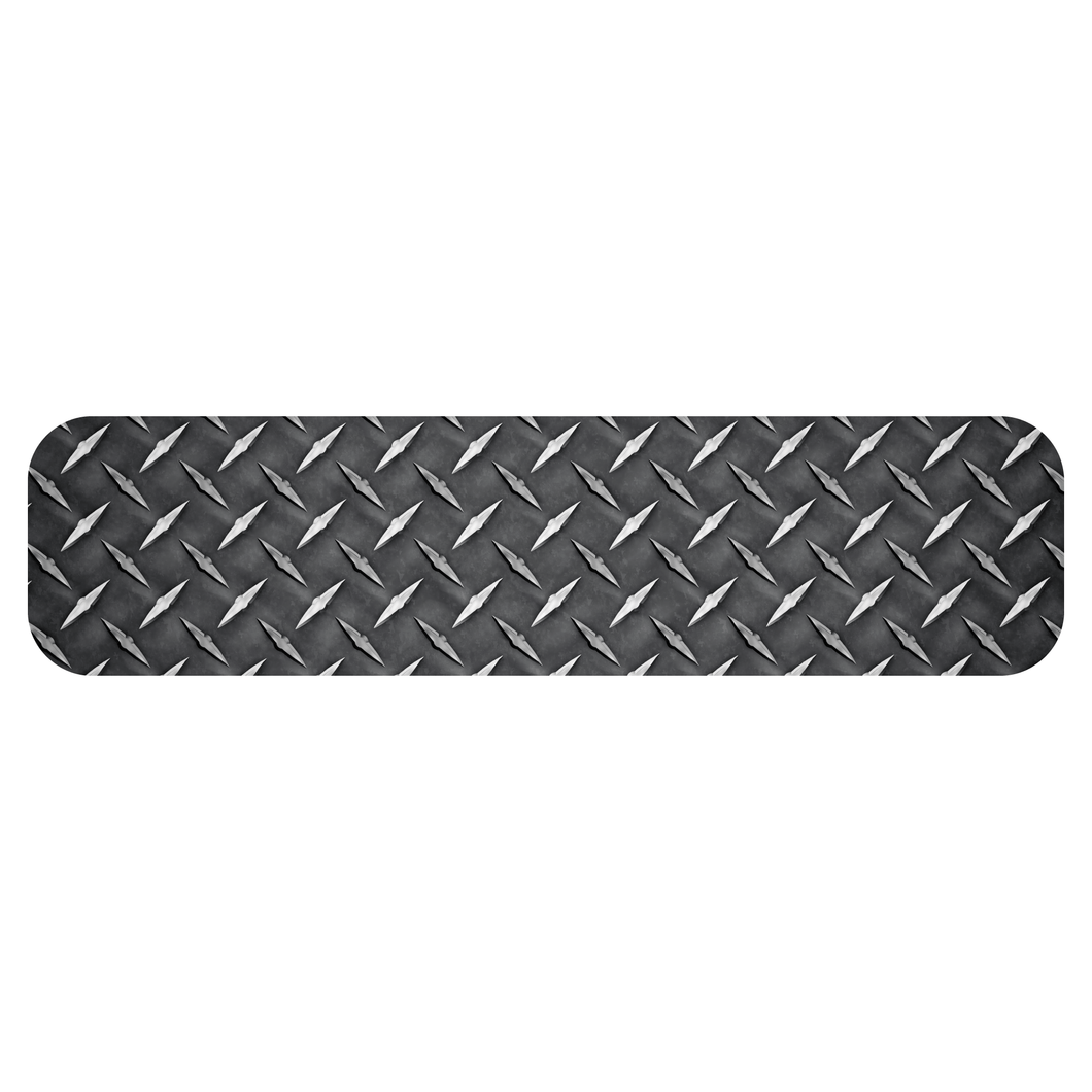 Diamond Plate Helmet Trim Stripe Markers