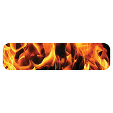 Load image into Gallery viewer, Fire & Flames Helmet Trim Stripe Marker Reflective Decals