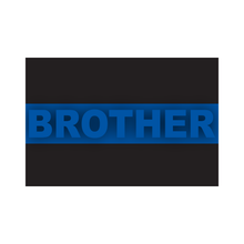 Load image into Gallery viewer, Thin Blue Line Flag Family Member Reflective Decals