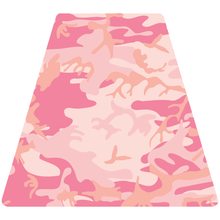 Load image into Gallery viewer, Pink Woodland Camouflage Helmet Tetrahedron Reflective Vinyl Decals