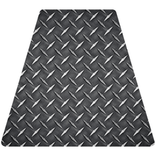 Load image into Gallery viewer, Diamond Plate Helmet Tetrahedron Reflective Decals - Fire Safety Decals